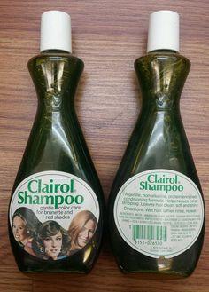 Lot of 2 Bottles Vintage Clairol Shampoo 8 Oz | eBay