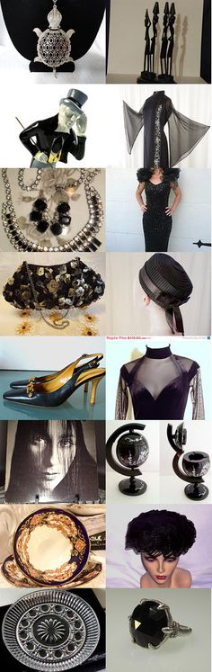 ****VEXPLOSION****Black is Back!! by RomantiqueTouch on Etsy--Pinned with TreasuryPin.com
