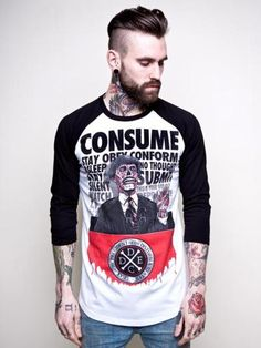 or like this dude! (also featured: sweet They Live t-shirt!)