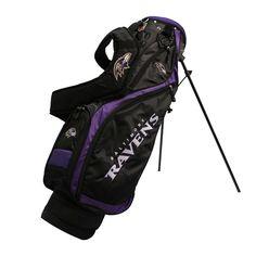 Baltimore Ravens Nassau Golf Stand Bag
