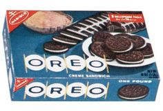 Oreo's were the best-twist them apart, scrape the filling off, then dunk the cookie in really cold milk Kraft Foods, Kraft Recipes, Retro Recipes, Vintage Recipes, Oreo Package, 1960s Food, Nabisco Oreo, Oreo Biscuits, Nostalgic Candy