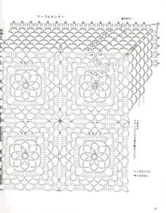 Square Crochet Doily Pattern. More Patterns Like This!