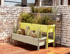 jardiniere metal, jardiniere rectangulaire by Fermob