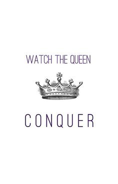 'Watch The Queen Conquer' iPhone Case by darkandbright - Beautiful Woman Quotes Quotes To Live By, Me Quotes, Motivational Quotes, Inspirational Quotes, Positive Quotes, Diva Quotes, Hard Quotes, Courage Quotes, The Words