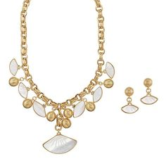 Add a dazzling touch to your outfits with AVON's Summer Shimmer Necklace & Earring Set. Perfect for any elegant spring-summer outfit this necklace and earring set will make you feel instantly luxurious. Shop now.