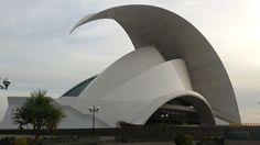טנריף - חלק א' - תפוז בלוגים Tenerife, Opera House, Gate, Clouds, Building, Travel, Viajes, Portal, Teneriffe