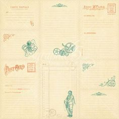 Voyage Beneath the Sea Vertical Journaling & Ephemera cards - Back #sneakpeeks #graphic45