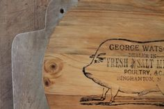 How to Create Farmhouse Wall Art With Graphic Transfer by Adirondack Girl @ Heart