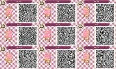 Pink Brick Path ACNL Animal Crossing New Leaf Qr Code