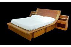 Cama en madera de lenga Lenga wood bed