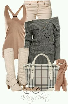 Winter wear- love the cool colors