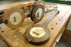 Making a Traditional Banjo with John Huron at the John C. Campbell Folk School, Brasstown, NC | folkschool.org