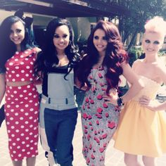 Little Mix at the KCA's!!! THEY'RE SO PRETTY