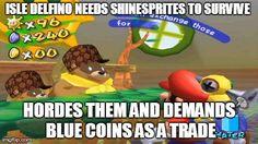 Super Mario Sunshine Logic