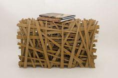 cardboard table - Tom Cecil