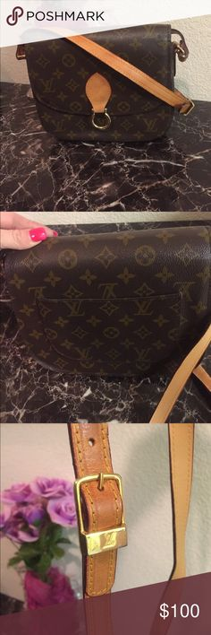 Designer Bag EUC designer Crossbody. Very gently used designer Crossbody in excellent condition. The few times I have used this bag I have received multiple compliments on it. Please note this is not Louis Vuitton. Feel free to ask questions :). Bags Crossbody Bags
