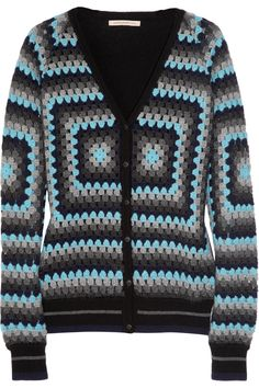 Christopher Kane                                  Crocheted cashmere cardigan