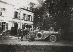 Niemieccy oficerowie jednostki lotniczej Flieger Abteilung 280, 1918 rok