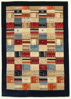 Loribaft  Teppich  Modern  Alfombra oriental carpet 244 x 172  tappeti orientali