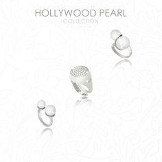 Doppio, chevalier, contrariè… il tuo prossimo anello è Hollywood Pearl! Scopri tutti i modelli 💍  #rebeccagioielli #anello #regalo