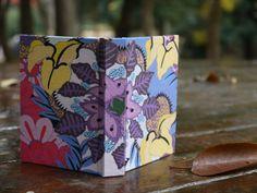 Doodle Art Book 6 - handmade book with doodle art cover - Hanamama2007