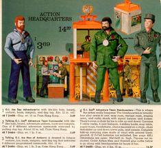 G.I. Joe Adventure Team Headquarters in the Montgomery Ward Christmas Catalog, 1973