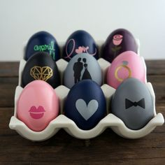 Eggs with style!