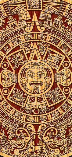 Aztec Tattoo Designs, Gold Belts, Meraki, Vintage World Maps, Playing Cards, Sick, Wallpapers, Aztec, Aztec Art