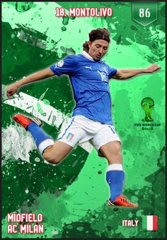 #Montolivo Italy FIFA World Cup 2014 Lineup