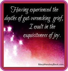 Loss, Grief, & Reclaimed Joy http://stopeatingyourheartout.com/2012/loss-grief-and-reclaiming-joy/
