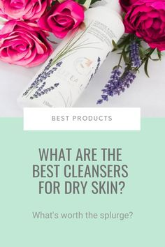 Cleansers are pretty simple beasts, it's all about getting the ratio of detergents (low) and emollients (high) right. A basic, frills-free formula is the way to go. It'll do the trick without breaking the bank, leaving you with clean skin and enough money to splurge on the stuff that really makes a difference. And here are my pick of the best cleansers for dry skin... #dryskin #cleanser #bestproducts Glowy Skin, Oily Skin, Younger Looking Skin, Cleansers, How To Feel Beautiful, Beauty Skin, Skin Care Tips, Skincare, Good Things