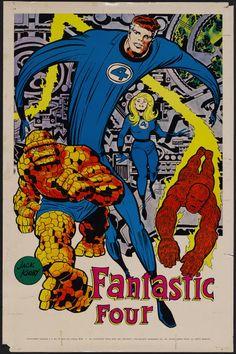 Kirby Marvelmania poster (1970)