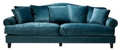 "Make a statement with sumptuous blue velvet. Coco 3.5-seater **sofa** covered with Mystere Peacock fabric from [Oz Design Furniture](http://www.ozdesignfurniture.com.au/?utm_campaign=supplier/|target=""_blank"")."