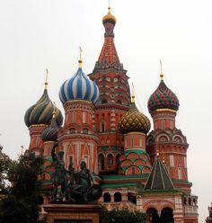 Quarto de Viagem!: Catedral de São Basílio e as Catedrais de Moscou!