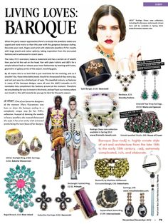Press coverage Staffordshire Living Oct/Nov 12 LRCO spring collection 13