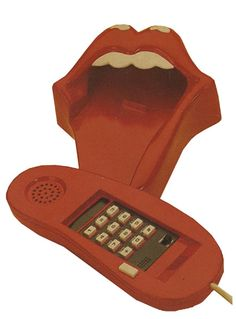 Rolling Stones,Tongue And Lips Telephone + Picture Box,USA,Deleted,MEMORABILIA,461886