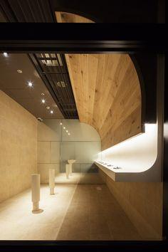 Gallery of Smoking Room Grand Tree Musashikosugi / Hiroyuki Ogawa Architects - 4 H Design, Store Design, Wall Design, Interior Architecture, Interior Design, Restroom Design, Exhibition Stand Design, Smoking Room, Commercial Interiors