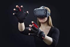 We have the VR . now we need the controllers. Manus $250 #virtual #reality