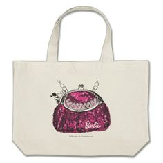 Barbie's Purse Large Tote Bag