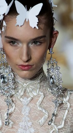 Alexis Mabille Couture earrings #PurelyInspiration
