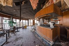 Abandoned Sky Bar, Gabe's Tower, Owensboro, KY