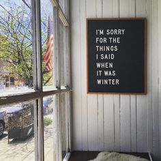 """67 Likes, 5 Comments - Alexis Pew (@lexipew) on Instagram: """"☀️ #spring #springtime #sunshine #office #monday #windowdisplay #nolibs #letterboard @letterfolk"""""""