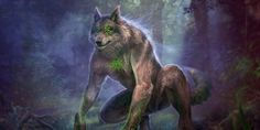 In Slavic mythology, Volkolak by Vasylina turned into a wolf or bear. Furry Art, Werewolf Art, Vampires And Werewolves, Mythological Creatures, Magical Creatures, Monster, Creature Design, Character Inspiration, Fantasy Art