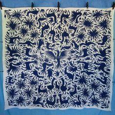 Mexican Textiles - Otomi fabrics