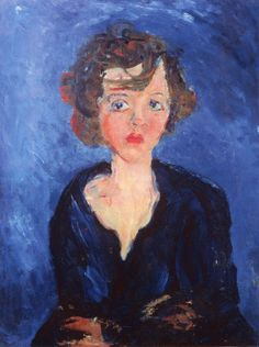 Young Polish Girl Chaim Soutine - 1929. Chaïm Soutine was a French painter of Belarusian Jewish origin. Soutine made a major contribution to the expressionist movement while living in Paris.