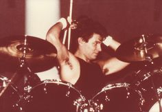 It's never the pits when it's Roger. Roger Taylor Duran Duran, Drums, Concert, Music, Musica, Musik, Percussion, Drum, Concerts