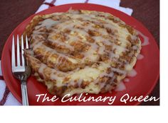 The Culinary Queen: Cinnamon Roll Pancakes