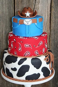 Leonie's Cakes and Parties . . . . .: Cowboy Party - Ethan's 3rd Birthday