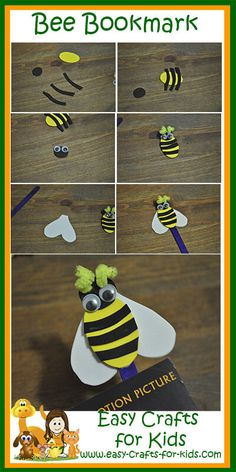 Bumble Bee Crafts for Kids - Bzzzz!