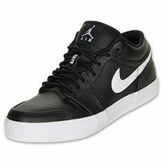 Men's Jordan AJV.2 Low Casual Shoes| FinishLine.com | Black/White
